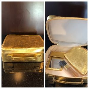 ESTEE LAUDER cosmetic case mirror brushes pouch